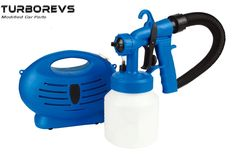 ELECTRIC PAINT GUN SPRAYER ZOOM SPRAY FENCE WALLS SHED PAITO PAINTER VARNISH 010