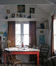 creative writing shed