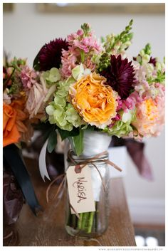 Bride's Bouquet  Rustic Weddings  www.ModernWeddingPhotography.tv  Flowers by Open House Country Flowers