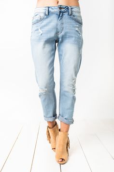 Pair these with any top in your closet, casual or dressy, and heels for easy Street Style