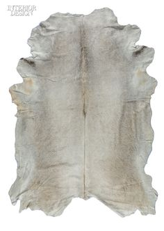Gray for Me Hair on Cowhide by Edelman Leather