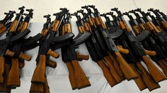From reports on the Paris attacks: France outlaws most gun ownership and it's almost impossible to legally acquire a high-powered rifle such as an AK-47, so where did the weapons