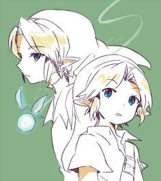Link and Navi by い     @sen_zip