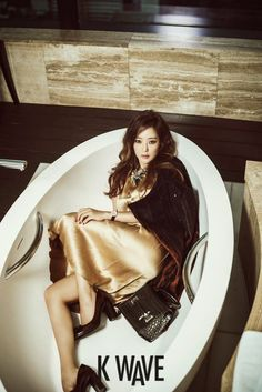 Kim Hee Sun - K Wave Magazine November Issue 2014