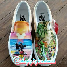 Products Hinter den Kulissen von shopgigicustoms Wolf Jewelry: Dances With Vogue Article Body: When Disney Painted Shoes, Painted Canvas Shoes, Painted Sneakers, Hand Painted Shoes, Painted Vans, Disney Vans, Disney Shoes, Custom Vans Shoes, Custom Sneakers