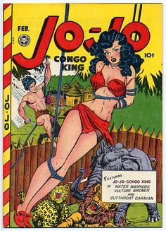 Matt Baker | Jo-Jo Comics | Fox Features Syndicate | 194?