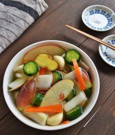 彩り水キムチ