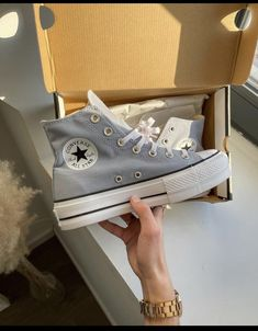 Dr Shoes, Swag Shoes, Hype Shoes, Me Too Shoes, Cute Sneakers, Shoes Sneakers, Zapatillas All Star, Mode Converse, Gray Converse