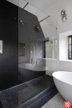 Badkamer inspiratie met ronde badkuip | badkamer ideeën | design badkamers | bathroom decor | Hoog.design