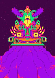 Trippy - Psychedelic illustrations