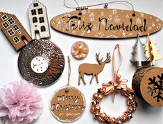 A mix of some of my crafts May We All, Merry Christmas, Illustrations, My Favorite Things, Amazing, Happy, Holiday, How To Make, Crafts