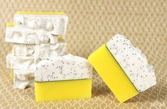 Soap QueenLemon Poppy Seed Cold Process | Soap Queen