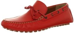 A high class loafer for stylish men. - DSQUARED2 Men's S13DR102016-33 Red Driving Loafer