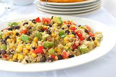 Southwest Quinoa Salad (Gluten Free)