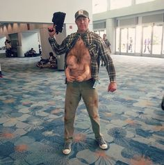 Nineties film fans will appreciate this Total Recall Kuato cosplay.