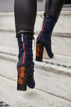 My new beauties! The Dior Trianon boots