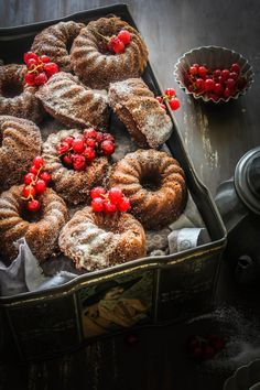 Rustic Food: These Chocolate And Coconut Financiers look spectacular. Love good food!
