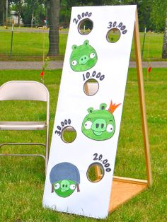 Built By Wisdom: Angry Birds Birthday Party- great game ideas here