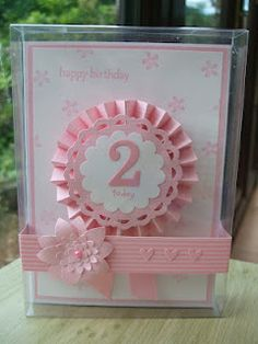 MaKing Papercrafts: Birthday Rosette