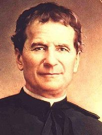 "Saint Fr. Don Bosco. He worked with the street children ""currently known as juvenile delinquents."" His teaching method was love centered, rather than punishment focused."
