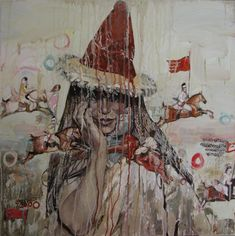 hung liu art | art scene warehouse and hung liu images of art by hung liu may not be ...