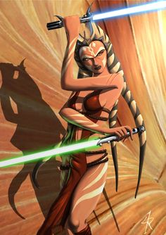 Ahsoka during the Empire by Raikoh-illust.deviantart.com on @deviantART