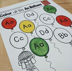 Letter of the week-LETTER A Activity PACK-letter recognition & identification Daily 5 Activities, Alphabet Activities, Art Activities, Literacy Stations, Literacy Centers, Kindergarten Themes, Letter Identification, Letter Of The Week, Letter Recognition