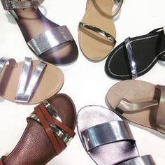 6c7f1978ff10a Looking to shine up your Wardrobe  check out our Metallic Sandals!