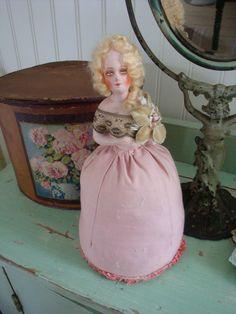 Vintage Pincushion Doll