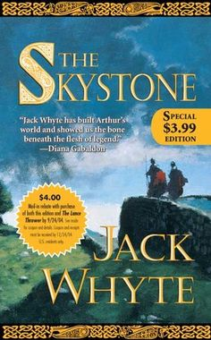 The Skystone by Jack Whyte. Series of historical fiction featuring King Arthur and the making of Camelot