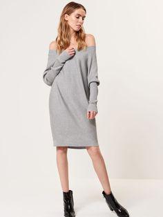 Swetrowa sukienka oversize, MOHITO, SG639-90X