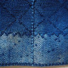 "ER store to buy old Japanese textiles. Japanese Noragi Boro Kogin Sashiko Indigo Vest"""