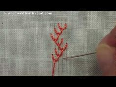 Double Feather Stitch - YouTube