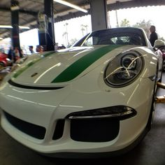 911R at Callis Rennsport. Tony always has the most amazing cars in his shop. #911R #limitededition #instaporsche