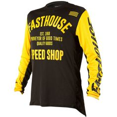 e7f6d56cd Fasthouse 2018 L1 Classic Yellow Jersey at MXstore