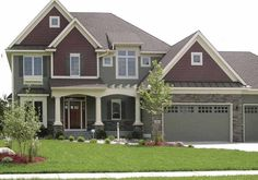 Eplans Craftsman House Plan - Portico Porch - 2697 Square Feet and 4 Bedrooms(s) from Eplans - House Plan Code HWEPL67196