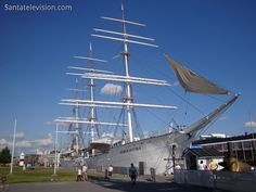 Europe Video Productions travel photo: Suomen Joutsen Swan of Finland museum ship in Turku in Finland: museum boat in former Finnish capital Cities In Finland, Finland Travel, Helsinki, Lappland, Places In Europe, Tourist Places, Travel Images, Travel Photos, Finland Country
