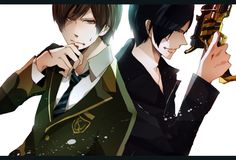 Souji and Ian .... Kyoryuger