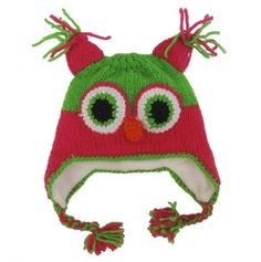 Owl Hat for the kids. Hoot!