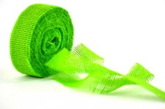 Varie - Nastro di Juta Naturale verde Mela cm.4 metri 10 - un prodotto unico di raffasupplies su DaWanda