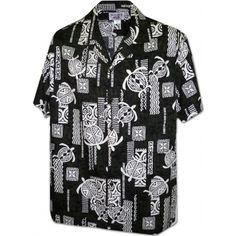 chemise hawaienne ...Eighties