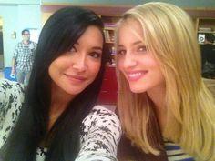 Quinntana/Rivergron. Dianna Agron & Naya Rivera. <3
