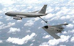 KC135 and B2