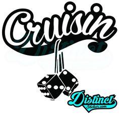 Cruisin (2) - Sticker