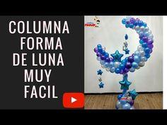 Columna forma de luna con estructura - YouTube