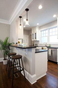 46 best half wall kitchen images living room arredamento home decor rh pinterest com