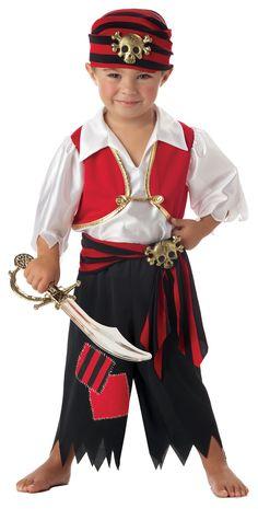 Little Pirate Costume @fantasypartys