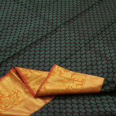 Sarangi Handwoven Kanjivaram Silk Sari - 100125500 from Sarangi * Feel Beautiful