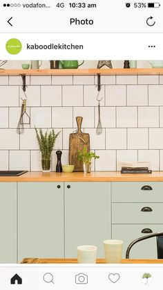 how to revamp flat pack kitchens