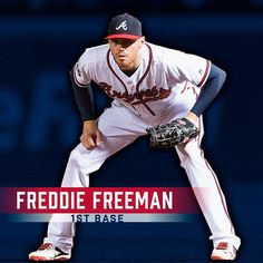 Playing 1st base for the #AllTFTeam, Freddie Freeman